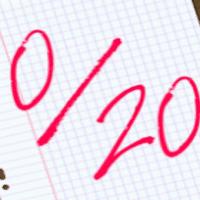 UN zero sur vingt: le surdoué peut être nul dans certaine matiere